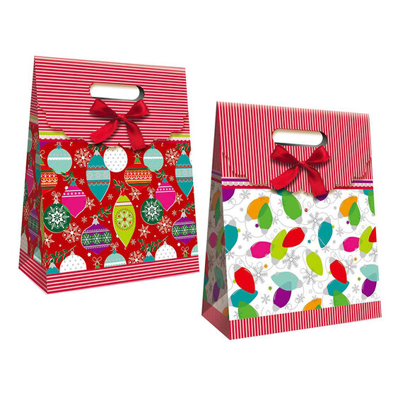 Paper Trendz Diecut Gift Bag with Handle - Assorted