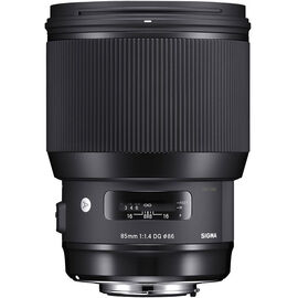 Sigma Art 85mm F1.4 DG Lens for Canon - A85DGHC