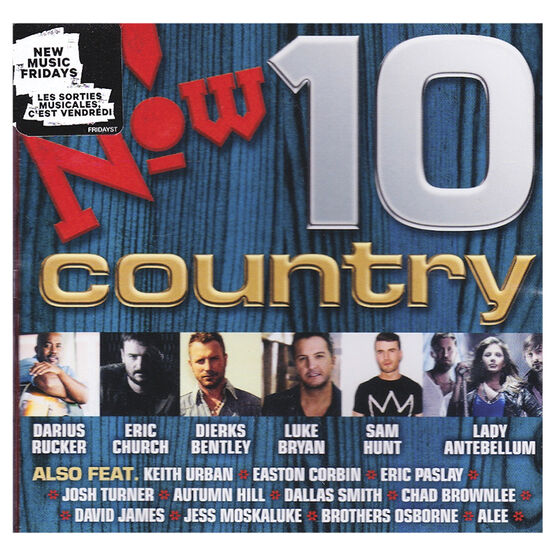 Various Artists - Now Country 10 - CD