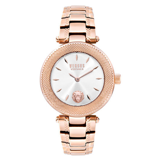 Versace Versus Brick Lane Ladies Watch - Silver/Rose Gold - S71060016