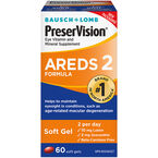 Bausch & Lomb PreserVision AREDS 2 Eye Vitamin and Mineral Supplement -  60's