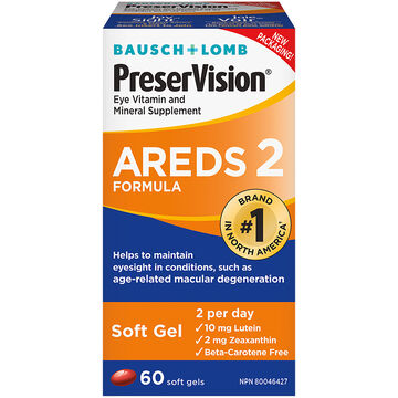 Savings Save Now on PreserVision Eye Vitamins. Save $ on your purchase of any Bausch + Lomb PreserVision Eye Vitamin and Mineral Supplement (60 count or higher) Download a coupon!