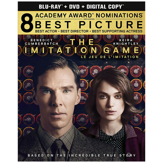 Imitation Game - Blu-ray + DVD + Digital Copy