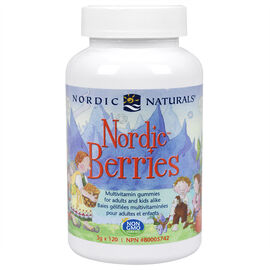 Nordic Naturals Berries Multivitamin Treats Adults & Kids - 120's
