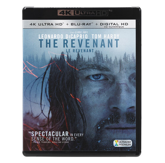 The Revenant - 4K UHD Blu-ray