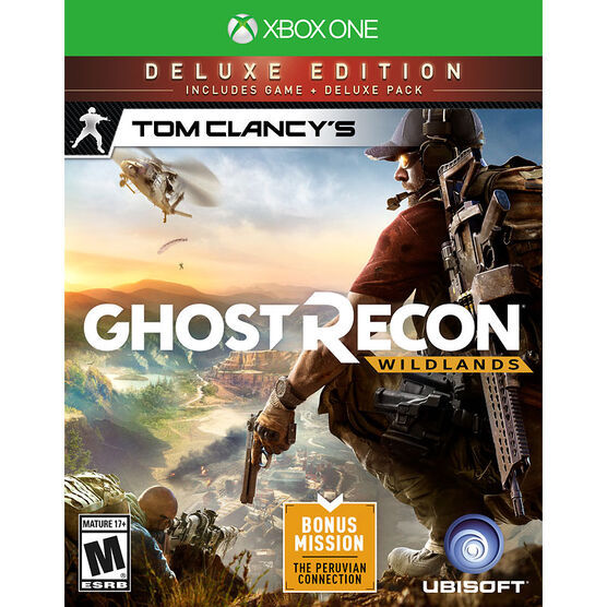 PRE-ORDER: Xbox One Tom Clancy's Ghost Recon Wildlands Deluxe Edition