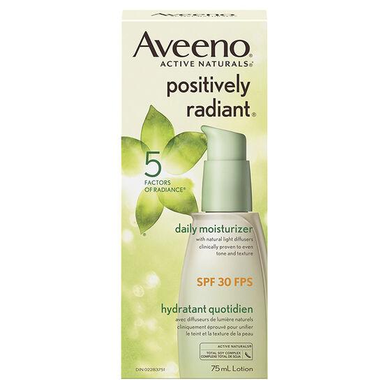 Aveeno positively radiant daily moisturizer spf 30 ingredients