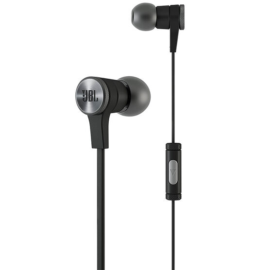 JBL E10 In-Ear Headphones - Black - E10BLKNP
