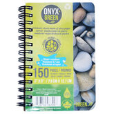 Onyx Green Stone Paper Notebook - 3x5 inches