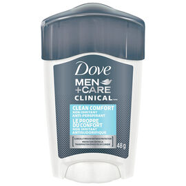 Dove Men +Care Clean Comfort Non Irritant Anti-Perspirant Stick - 48g