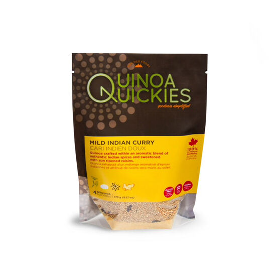 Quinoa Quickies - Mild Indian Curry - 165g