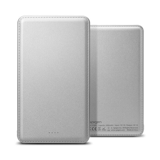 Spigen 5000 mAh Portable Battery - Silver - SGP000BP20260