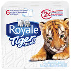 Royale Tiger Paper Towels - 6's