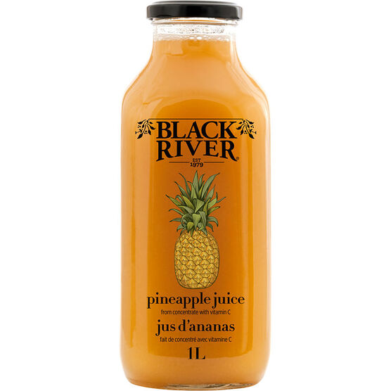 Black River Pineapple Juice - 1L