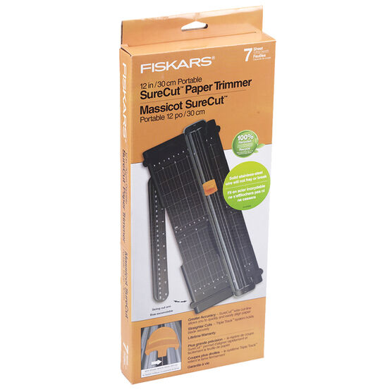 Fiskars Trimmer Sure Cut - 12""