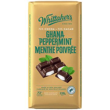 Whittakers Dark Chocolate - Ghana Peppermint - 200g