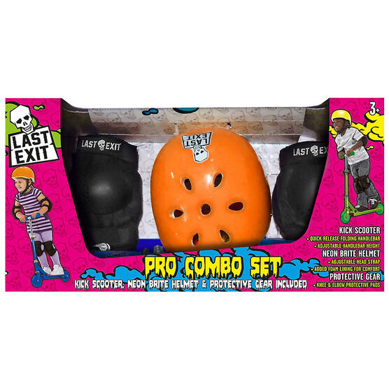 Last Exit Scooter Pro Combo Set - Orange