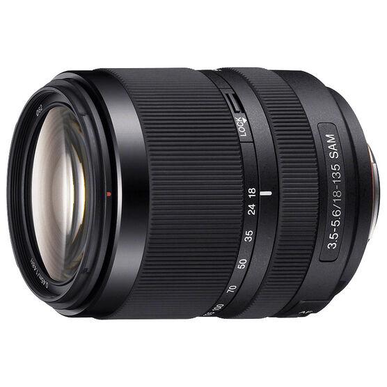 Sony DT 18-135mm F3.5-5.6 SAM Zoom Lens - Black - SAL18135