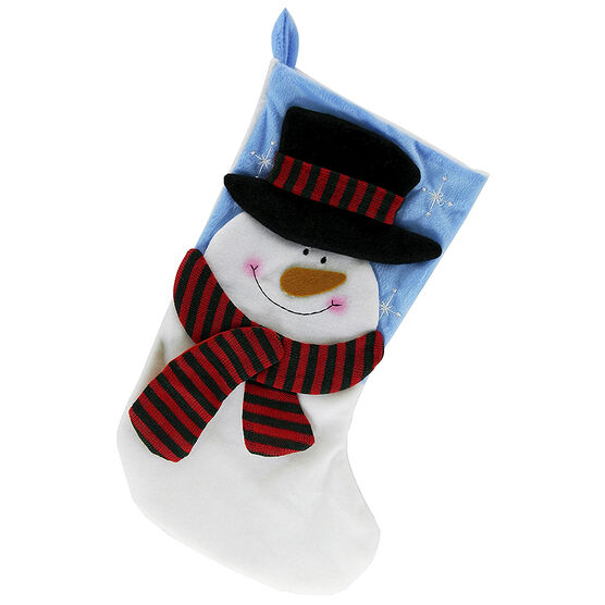 Christmas Forever Stocking - 18 inch - Snowman