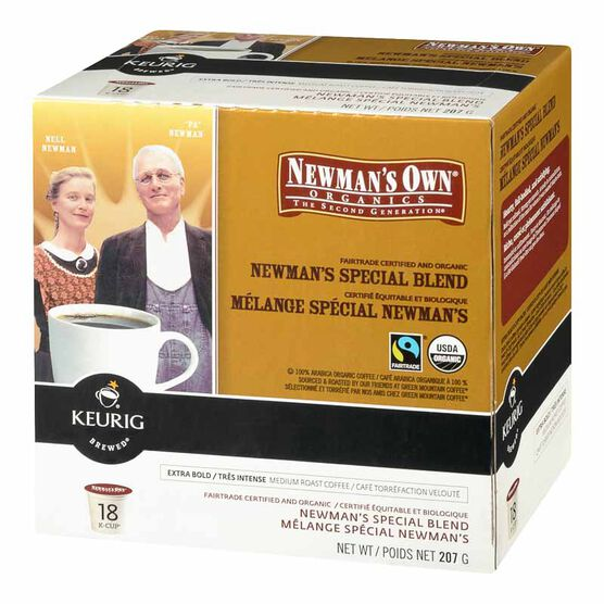 Keurig K-Cup Newman's Own Coffee Pods - Organic - 18's