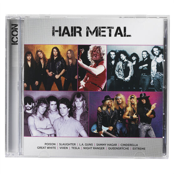 Various Artists - Icon: Hair Metal - CD