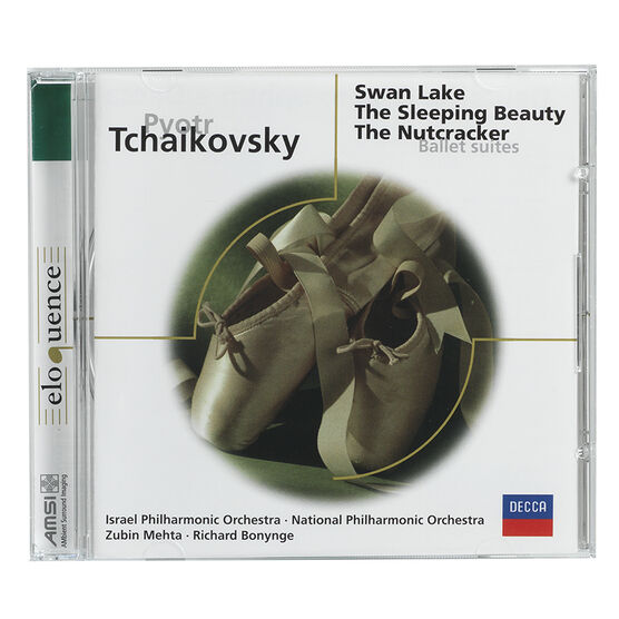 Tchaikovsky: Ballet Suites - Swan Lake, The Sleeping Beauty, The Nutcracker - CD