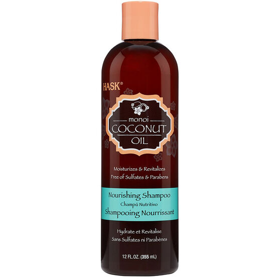 Hask Monoi Coconut Oil Nourishing Shampoo - 355ml