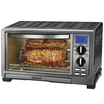 Black & Decker Infrared Toaster Oven - Stainless - TO1021BC