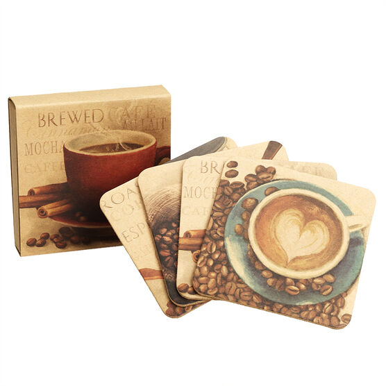 London Drugs Cork Coasters - 4 piece