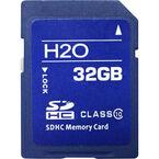 H2O 32GB Class 10 SDHC Card - CE-SD-32G