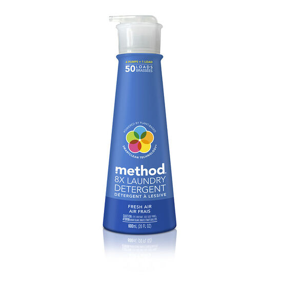 Method Laundry Detergent - Fresh Air - 600ml/50 use