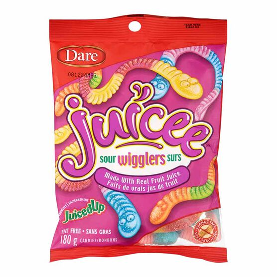 Dare Juicee Sour Wigglers - 180g