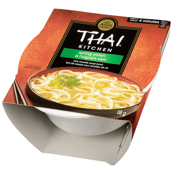 Thai Kitchen Rice Noodle Soup Bowl - Spring Onion - 68g