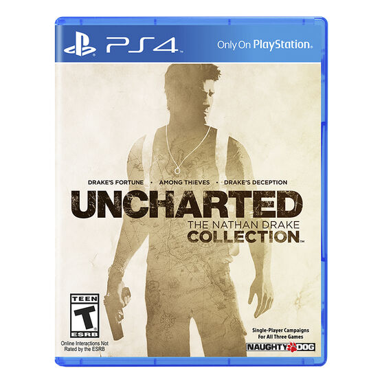 PS4: Uncharted: The Nathan Drake Collection