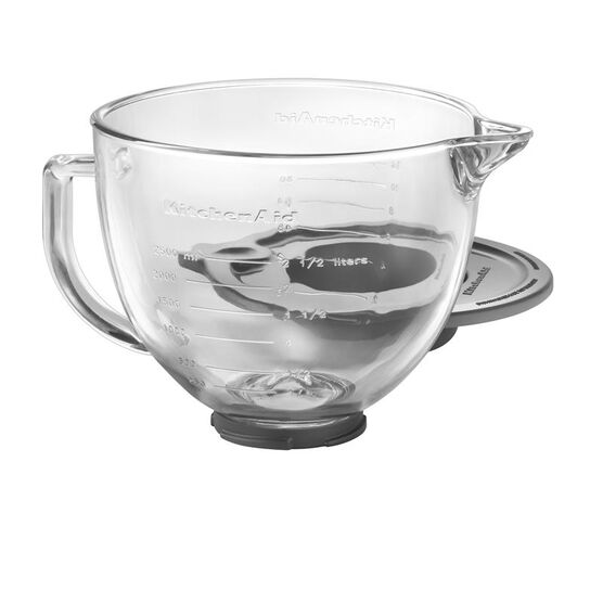 KitchenAid 5 quart Glass Bowl with Lid - K5GB