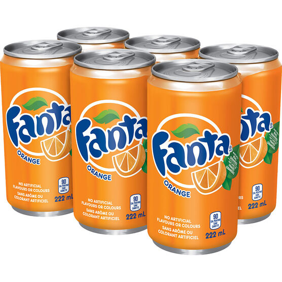 Fanta Orange - 6x222ml
