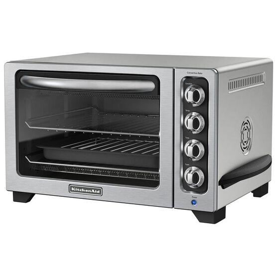 KitchenAid 6 slice Convection Countertop Oven - Silver - KCO223CU