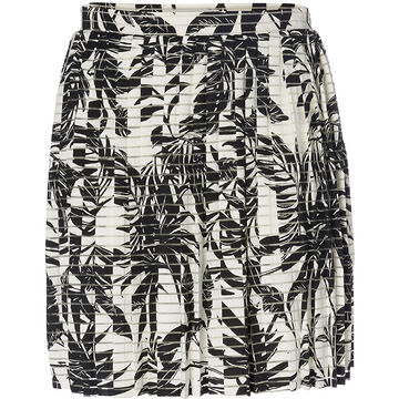 Vero Moda Nia HW Short Skirt -  White