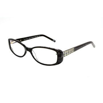 Foster Grant Willow Reading Glasses - Black/Chrome - 1.50