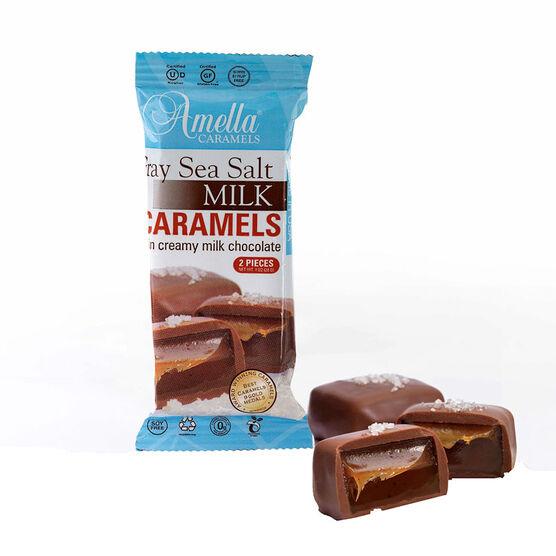 Amella Milk Chocolate Caramel - Sea Salt - 28g
