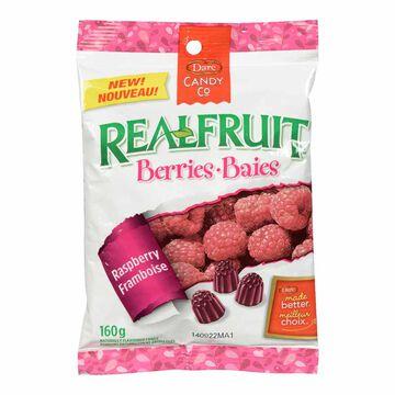 Dare Real Fruit Berries - Raspberry - 160g