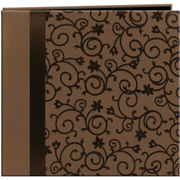 Pioneer Embossed 12x12 Brown Scroll - MB-10SRBN