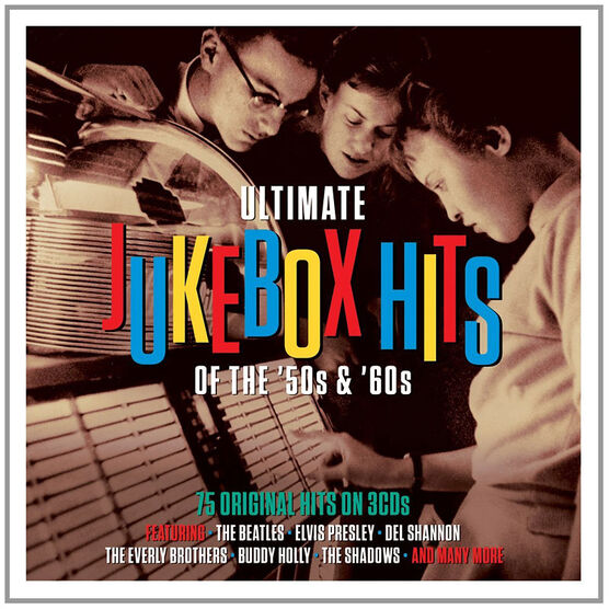 Various Artists - Ultimate Jukebox Hits of the '50s and '60s - 3 CDs