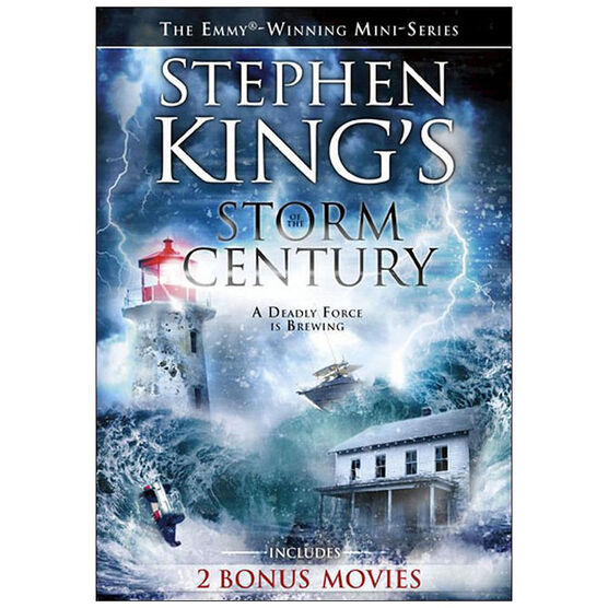 Storm of the Century + 2 Bonus Films - DVD
