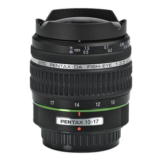 Pentax smcP DA 10-17mm f/3.5-4.5 Fisheye Lens