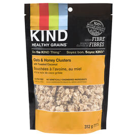 Kind Oats & Honey Clusters with Toasted Coconut - 312g