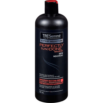 TRESemmé Perfectly (un)Done Weightless Silicone Free Shampoo - 739ml