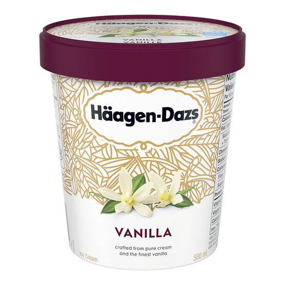 Haagen Dazs Vanilla Ice Cream - 500ml