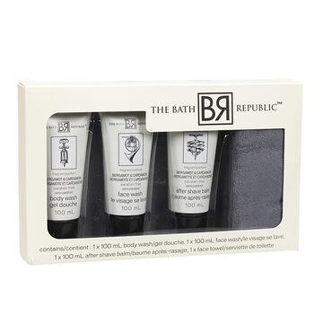 The Bath Republic Men's Bath Set - 4 piece