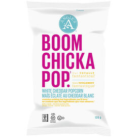 Angie's Boomchickapop - White Cheddar - 128g